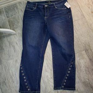 BACCINI  Grommet Jeans